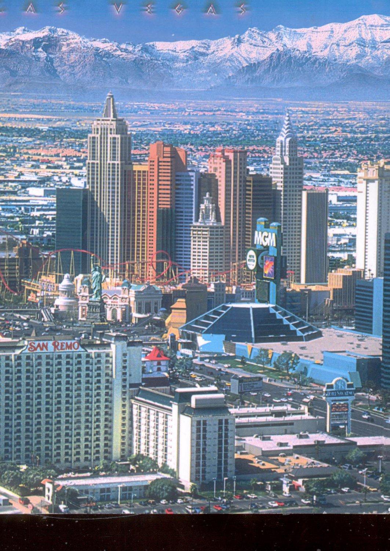 Las Vegas          Postcard     (# 716)