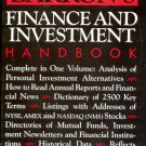 Barron's Finance and Investment Handbook- second edition- hb