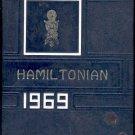 1969 Hamiltonian yearbook- Hamilton, Mississippi