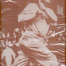 """Ball player with head up and bat up  print (#27)   11""""x14"""""""
