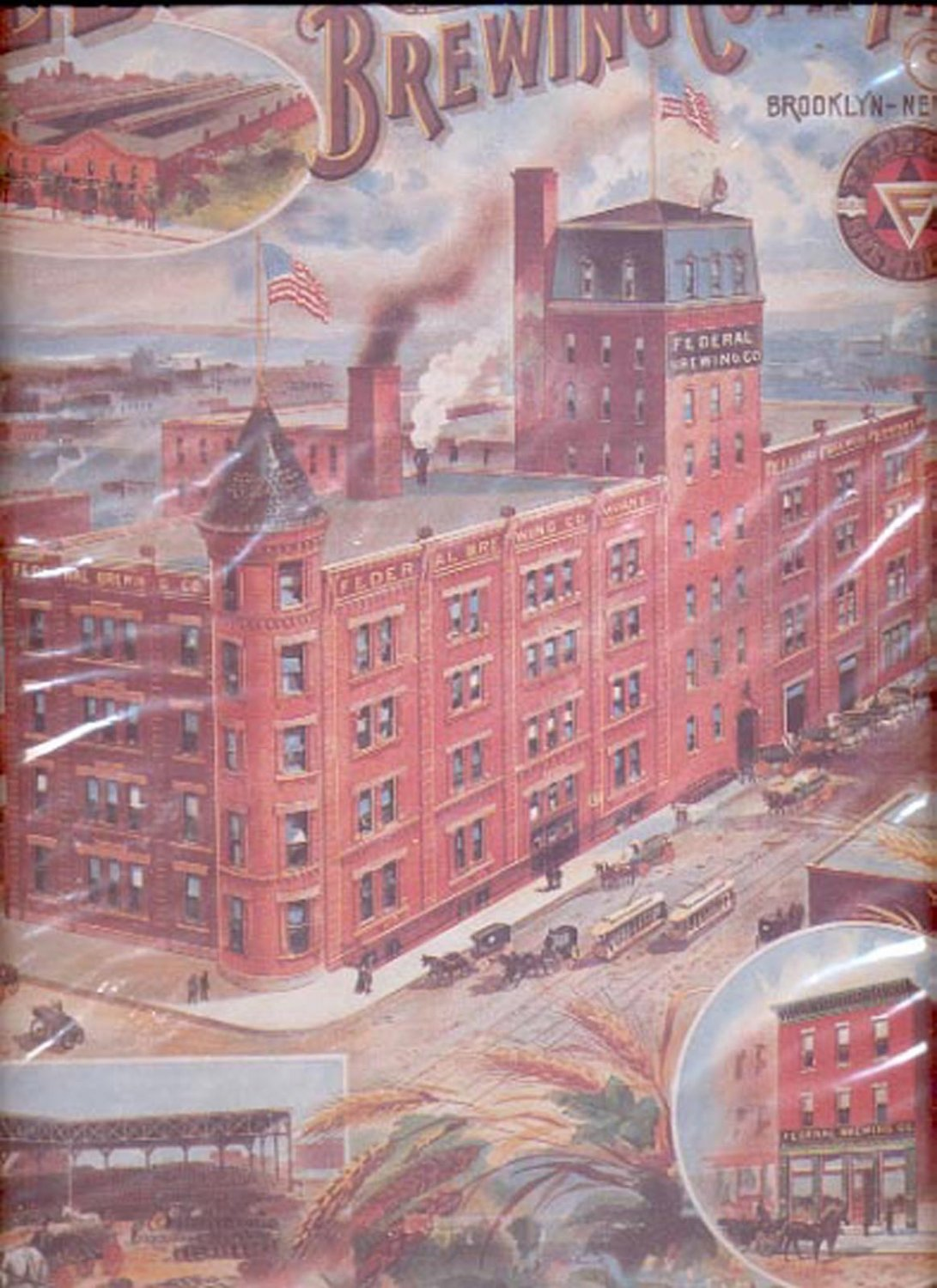 """""""The Federal Brewing Company"""" Print (#19)  11""""x14"""""""