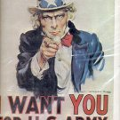 """""""I Want you for U.S. Army"""" Print (#18)  11""""x14"""""""