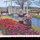 Dutch Children   in Holland,   Michigan    Postcard   (# 758)