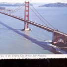 Aerial View of the Golden Gate Bridge, San Francisco     Postcard  (# 776)