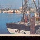 """ Mosquito Fleet""-  Galveston, Texas     Postcard  (# 784)"