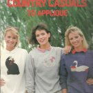 Leisure Arts-  Country Casuals to applique by Alda Mason Ellis and Etheridge