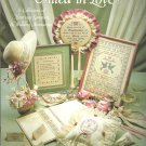 Leisure Arts- United in Love- a collection of marriage samplers & Wedding Accessories