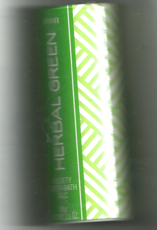 12 Avon Herbal Green Velvety After-bath talc - Vintage