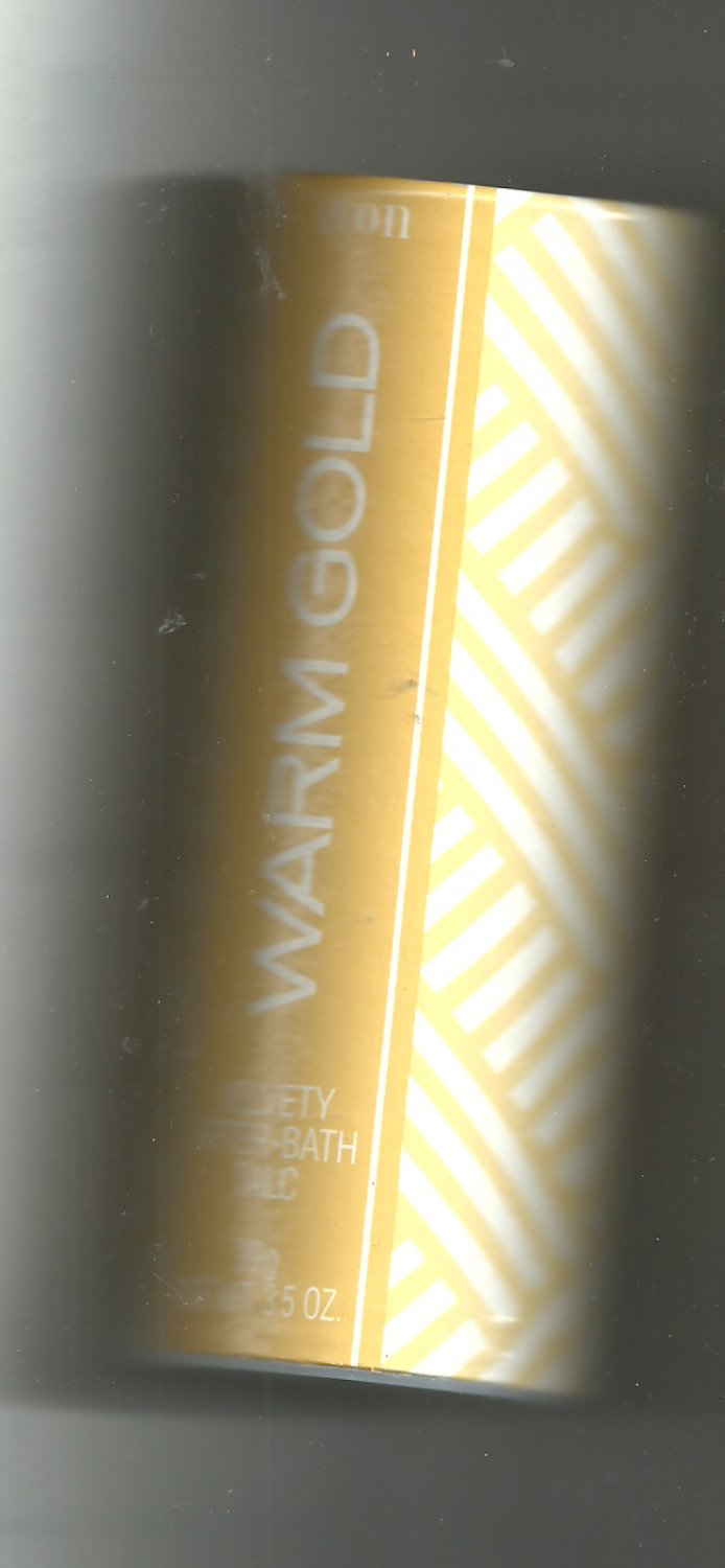 6 Avon Warm Gold Velvety After- Bath Talc-  - Vintage
