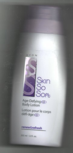 Avon Skin So Soft Age- Defying Body Lotion - renew & Refresh- 12 fl. oz.-- Vintage