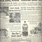 Feb. 1948    Sta- Flo  Liquid Starch        ad  (# 6658)