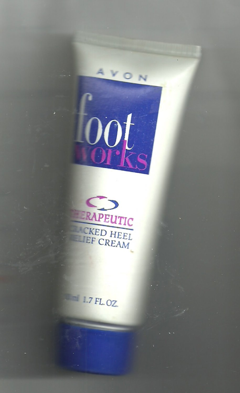 Avon Foot Works Therapeutic Cracked Heel Relief Cream 1.7 fl. oz. - VINTAGE