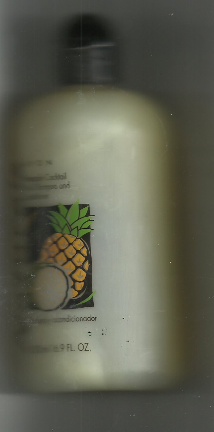Avon Naturals Pineapple Cocktail 2 in 1 Shampoo and Conditioner-16.9 fl. oz. -- Vintage