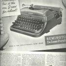 Sept. 1948 Remington Rand Typewriter   ad (# 2687 )