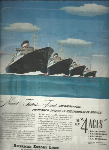 Sept. 1948  American Export Lines   ad (# 3719 )