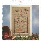 Apple Sampler designs by Charlotte cross stitch leaflet