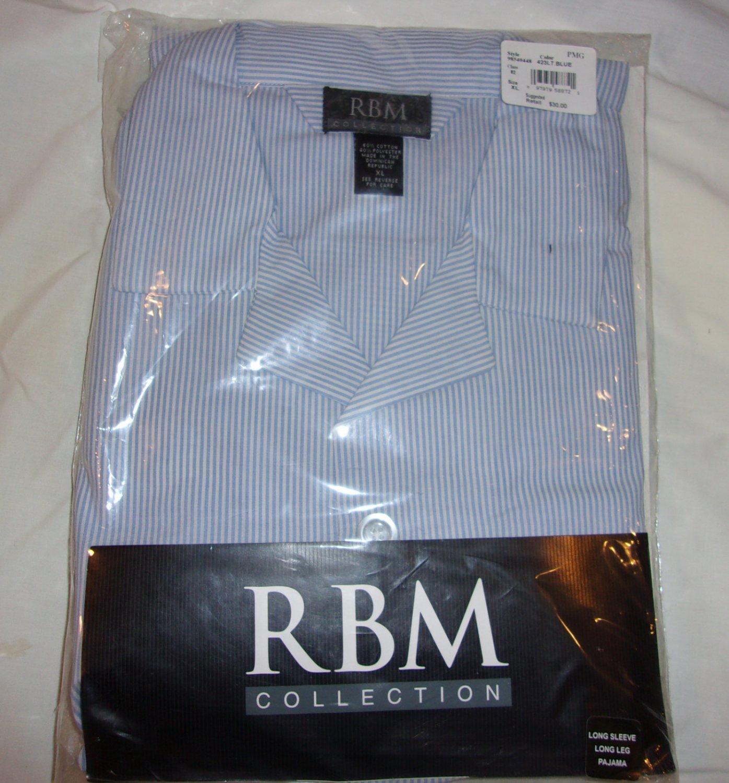 RBM Sleepwear- Long Sleeve Long Leg Pajama- Size XL.