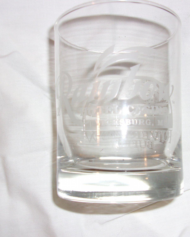 Raibow Hotel Casino Vicksburg, MS.   Beverage Glass
