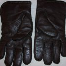 Brown Leather Gloves for men- size XL
