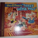 1949 Walt Disney's Three Little Pigs  Capitol Record- Reader - Don Wilson -78RPM