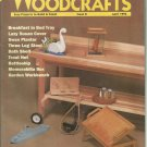Weekend Woodcrafts Issue 8 April 1993.  Easy Projects to build & Finish