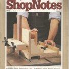ShopNotes Issue 6- Nov. 1992- Tips Tools Techniques-