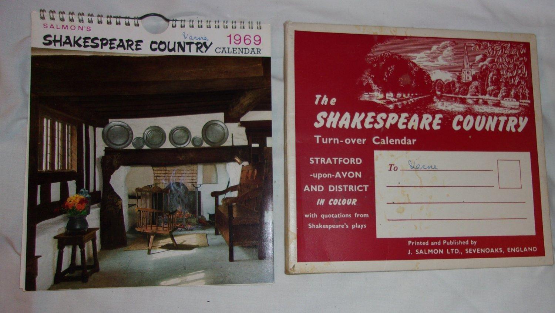1969 Salmon's Shakespeare Country Calendar