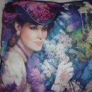 Mrs. Albee Throw Pillow- 1990s