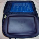 "Pyrex Clear Baking Dish 233S- 3 qt. 3 liter.13""x 9""x 2"". with lid & Carrier case"