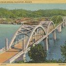 Umpqua River Bridge Reedsport, Oregon     Postcard  ( # 577)