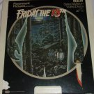 Friday the 13th  Presented by Paramount Pictures -RCA  SelectaVision Video Discs