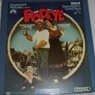 Popeye   Presented by Paramount Pictures  - RCA  SelectaVision Video Disc