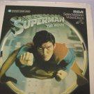 Superman  The Movie  -   RCA  SelectaVision Video Discs- Part 1 & 2 of 2