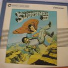 Superman III -   RCA  SelectaVision Video Discs- Part 1 & 2 of 2