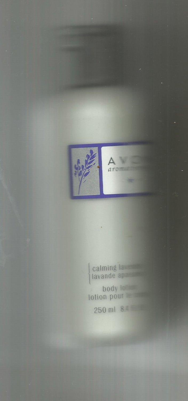 Avon Aromatherapy Calming Lavender Body Lotion-- Vintage