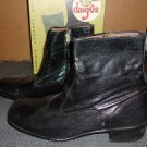 Vintage  Acme Dingos Boots- Side zipper- size 10 1/2 B.