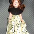 """6"""" Doll with movable arms and eyes open and close."""
