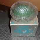 Vintage 1977 Avon Fostoria Egg Soap Dish and Spring Lilacs soap - Mothers Day