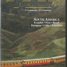 Travel the World by Train- South America- DVD.  5 continents, 55 countries