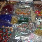 Craft Beads- assorted colors- Box Lot # 2