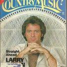 Country Music Magazine-  April 1980-  Larry Gatlin