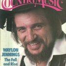 Country Music Magazine-  November/ December 1983- Waylon Jennings