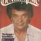 Country Music Magazine-  November/ December 1984- Conway Twitty