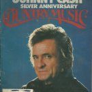 Country Music Magazine- July/August 1980-  Johnny Cash Silver Anniversary