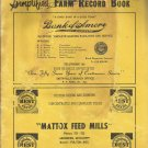 1955  Mississippi Simplified Farm Record Book
