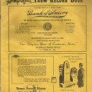 1960 Mississippi Simplified Farm Record Book