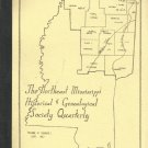 The Northeast Mississippi Historical & Genealogical Society Quarterly -Sept.1982