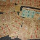 Vintage B & W Cigarette coupons  Lot of hundreds