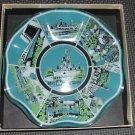 Walt Disney World A gift of glass The Magic Kingdom trinket dish