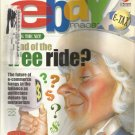 Ebay magazine-  November 2000- Future of e-commerce hangs in the balance